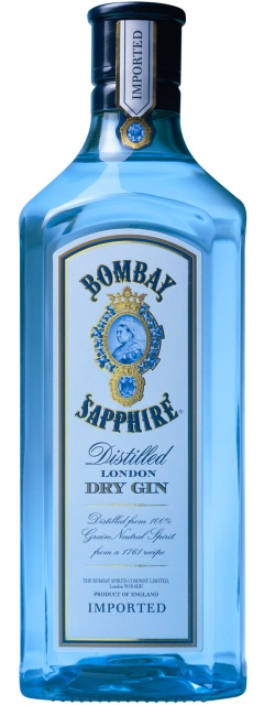 gin, Bombay Sapphire, London Dry Gin
